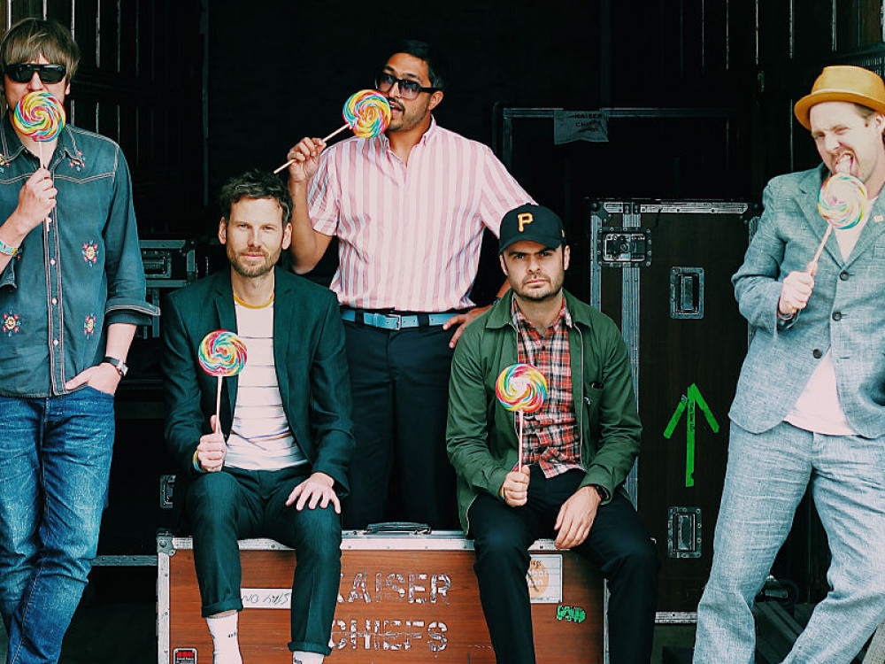 Kaiser Chiefs coming to Exeter