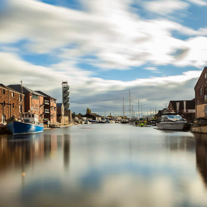 exeter river quayside