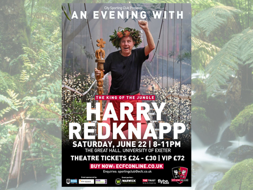 Harry Redknapp Comes To The Great Hall, Exeter