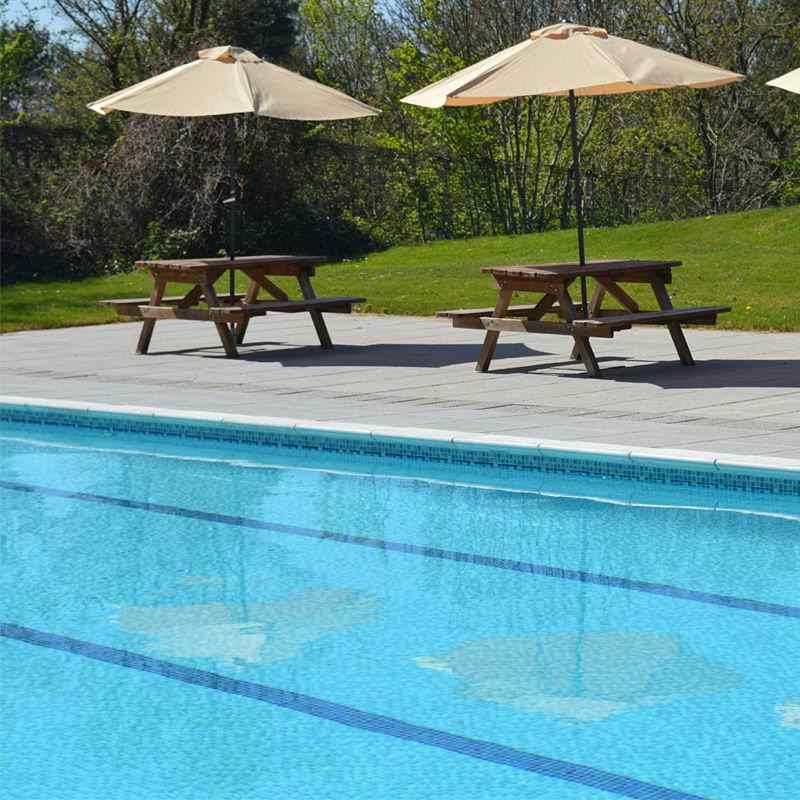 Communal swimming pool included with self catering facilities