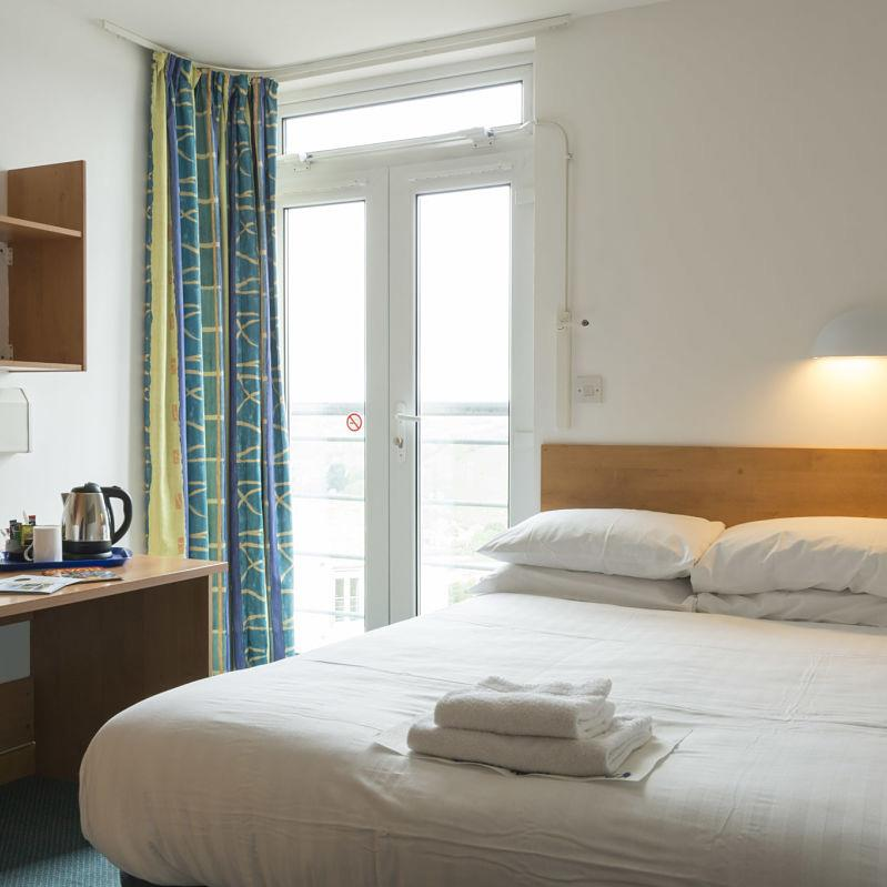 Event Exeter's rooms are spacious, tidy and well located