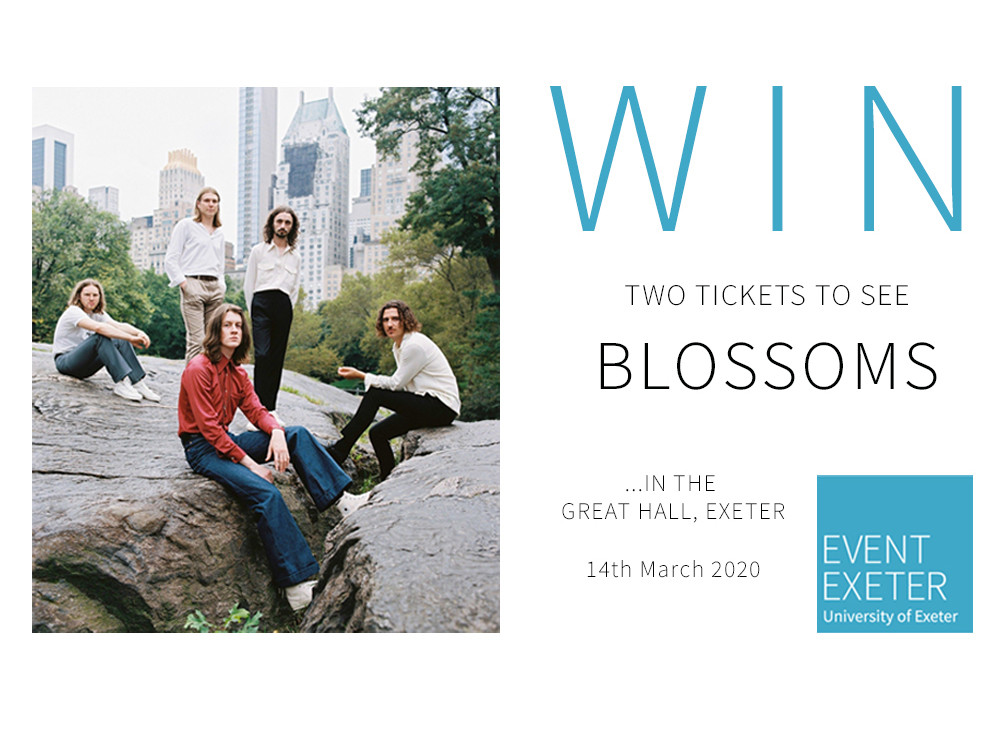 WIN Two Tickets To See Blossoms in Exeter